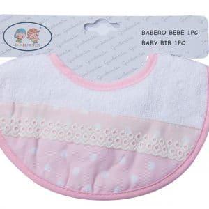 Babero bebé velcro