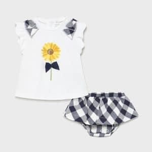 Conjunto Falda Ecofriends recién nacida niña Art. 21-01839-063