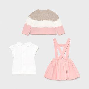 Conjunto falda tricot Ecofriends recién nacida niña Art. 21-01813-002